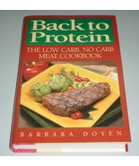 Back to Protein The Low Carb, No Carb Meat Cook... - $8.00