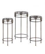 Cast Iron Lonestar Horseshoe Plant Stand Trio - $120.00