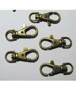 24 SWIVEL CLIPS~ Lobster Clasp 1.5
