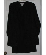 Nubiano Black 3 piece Suit - Size 8 NWOT - $49.99