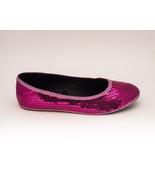 Sequin | Fuchsia Hot Pink Slipper Ballet Flats ... - $49.99