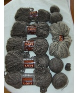 Lopi 100% New Wool Party Reynolds Yarn 7 Skein ... - $34.99