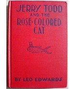 1930's JERRY TODD AND THE ROSE-COLORED CAT Leo ... - $12.00