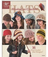 Hooked on Crochet Hats Crochet Book  NEW Patter... - $7.95