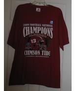 Crimson Tide 2009 FootBall National Champions T... - $18.00