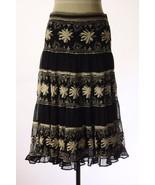 Anthropologie Odille Rare Beige Embroidered Bla... - $44.95