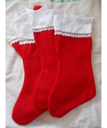 Lot of 20 Red and White 18
