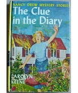 1960's Nancy Drew Mystery #7 THE CLUE IN THE DIARY - $2.00