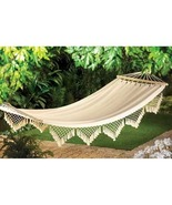 Cape Cod Canvas Hammock Max Weight  264 lbs   - $29.89