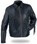 Diamond Plate Ladies Black Leather Motorcycle J... - $269.99