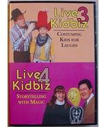 LIVE KIDBIZ 3 & 4 David Ginn clown magic co... - $28.00