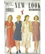 New Look Sewing Pattern 6613 Misses Womens Dres... - $19.99