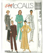 McCall's Sewing Pattern 9679 Misses Womens Robe... - $14.99
