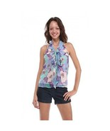 NEW NWT Anthropologie Tulle VTG Style Floral Pr... - $18.00