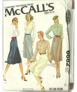 McCall's Sewing Pattern 6682 Misses Womens Skir... - $12.99