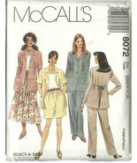 McCall's Sewing Pattern 8072 Misses Jacket Top ... - $19.99