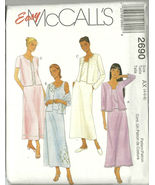 McCall's Sewing Pattern 2690 Misses Womens Skir... - $19.99