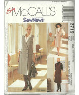McCall's Sewing Pattern 3719 Misses Womens Jump... - $14.99
