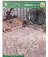 Thanksgiving Pinwheel Doily Crochet Pattern 109... - $2.99