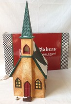 Merry Makers Merry Mountain Chapel Lighted with... - $54.39