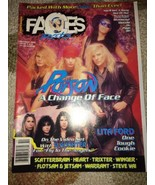1990 - OCTOBER - Faces Rocks Magazine-Poison-Li... - $12.99