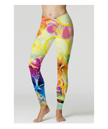 Vintage yellow Flower Trippy Psychedelic Full 3... - $19.50 - $26.99