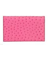 Hermes Fuschia (Pink) Ostrich Vision II Agenda ... - $1,695.00