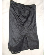 Bali Black Half Slilp Size 4X Nylon - $19.80