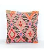 pink kilim pillow,KİLİM CUSHİON,KİLİM PİLLOW C... - $16.90