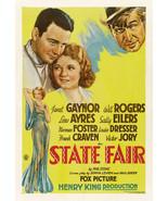 STATE FAIR DVD-R SC856 (1933) NR B&W Full Screen - $9.69