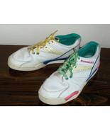 Brunswick Womens Bowling Shoes White Leather Si... - $24.00