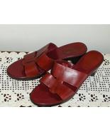 AK Anne Klein iflex Red Leather Womens Shoes Sa... - $19.99