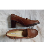 Tommy Hilfiger Shoes 9 1/2M Stacked Heels Leather - $29.70