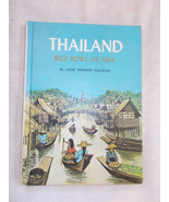 Thailand Rice Bowl of Asia Book By Jane Werner ... - $10.89