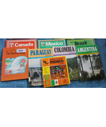 Lot of 8 Geography Books Argentina, Brazil, Can... - $29.70