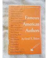 Famous American Authors by Sarah K. Bolton Revi... - $18.81