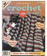 Crochet With Heart Magazine December 1996 Croch... - $4.99