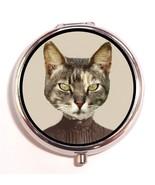 Victorian Cat Lady Pill Box Case Pillbox Kawaii... - $7.43