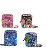 Vera Bradley Disney Mini Hipster Pink Blue Blac... - $149.95