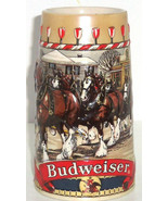 Budweiser Beer Stein 1986 Clydesdales Horses Am... - $74.95