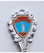 Collector Souvenir Spoon USA New York City Stat... - $8.99