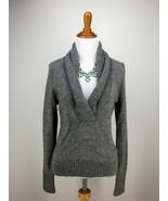 sz M Womens J.CREW Shawl Collar Sweater Lofty G... - $26.18
