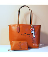 COACH PEANUTS SNOOPY TOTE 3 PIECE LOT LEATHER S... - $535.00