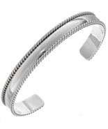 Sterling Silver Mens Cuff Handmade Navajo Bracelet - $121.67