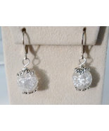 Beautiful Fried Marble Drop Earrings - $14.99