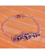 Love and Peace Vintage Style Retro Bracelet  7