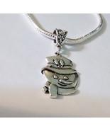 Snowman Tibetan Silver Charm Fit European Chain... - $0.00