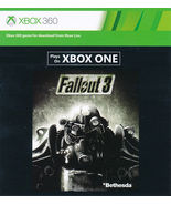 Fallout 3 xbox 360/ONE game Full download card ... - $9.88
