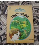 Trixie Belden #34 Missing Millionaire HTF First  - $32.00