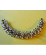 Vintage Judy Lee Bracelet - Gold Toned with Amb... - $15.99